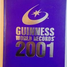 GUINNESS WORLD RECORDS, 2001, CARTEA RECORDURILOR, 2000