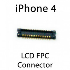 FPC conector pcb lcd iPhone 4 - Conector GSM