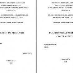 LUCRARE DE LICENTA A.M.G. - PLANIFICAREA FAMILIARA SI CONTRACEPTIA - Carte Chirurgie