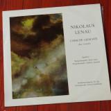 Disc vinil ( vinyl , pick-up ) - Nikolaus Lenau - Lyrische gedichte   !!