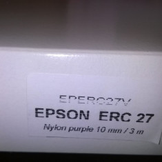 Ribbon Epson erc-27 purple compatibil - Riboane imprimanta