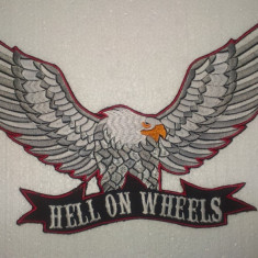 Patch Broderie Hell on Wheels