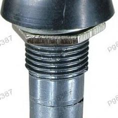 Push buton cu retinere, galben, 3A, 250V, 39x18mm - 124707