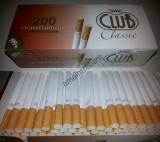 Tuburi tigari  Club Classic pentru injectat tutun