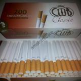 Tuburi tigari Club Classic pentru injectat tutun - Filtru tutun