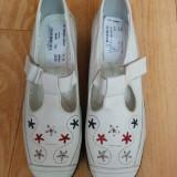 Pantofi din piele marimea 38,sunt noi,cu eticheta!