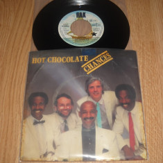 Hot Chocolate ‎: Chances/A Night To Remember (1982) (vinil single cu 2 piese) - Muzica Pop emi records