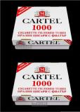 CARTEL 1000 tuburi  -2 x 1.000 tuburi tigari injectat tutun/tabac; filtre tigari