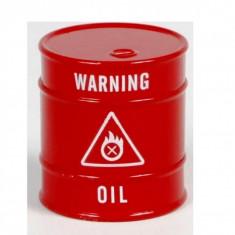 Grinder oil barel