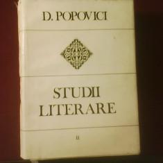 D. Popovici Studii literare, vol. II, Romantismul romanesc, ed. de Ioana Em. Petrescu - Carte Editie princeps