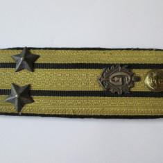 EPOLET LT.COLONEL GRANICERI R.S.R. - Insigna