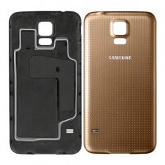 Carcasa capac spate AURIU Samsung Galaxy S5 + folie ecran cadou - Husa Telefon