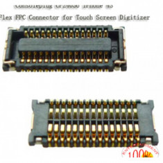 Conector touchscreen iPhone 4s pcb - Conector GSM