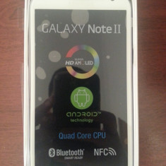 SAMSUNG GALAXY NOTE 2 WHITE - Telefon mobil Samsung Galaxy Note 2, Alb, Neblocat
