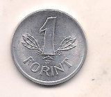 No(2) moneda-UNGARIA -1 Forint 1989