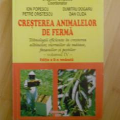 STELIAN DINESCU--CRESTEREA ANIMALELOR DE FERMA VOL. IV-ALBINE, PESTI, FAZANI
