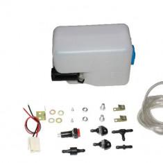 Kit spalator de far universal cu rezervor duze si motoras