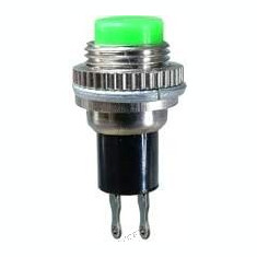 Push buton fara retinere, verde, 25x13mm - 124709