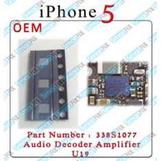 IC chip audio iPhone 5 U19 338S1077