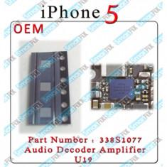 IC chip audio iPhone 5 U19 338S1077 - Circuit integrat telefon mobil