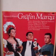 Disc Vinil - Grafin Mariza - Muzica Opera