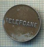 JETON 337 PENTRU COLECTIONARI - CONTROL - TELEFOANE  -STAREA CARE SE VEDE