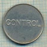 JETON 389 PENTRU COLECTIONARI - CONTROL - TELEFOANE  -STAREA CARE SE VEDE