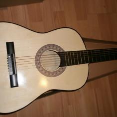 Chitara clasica pentru incepatori cu corzi metal si pana Chitara clasica copii