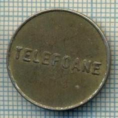 JETON 338 PENTRU COLECTIONARI - CONTROL - TELEFOANE -STAREA CARE SE VEDE - Jetoane numismatica