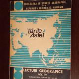TARILE ASIEI LECTURI GEOGRAFICE VOLUMUL 4 . - Carte Geografie
