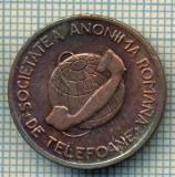 JETON 332 PENTRU COLECTIONARI - SOCIETATEA ANONIMA ROMANA DE TELEFONIE - BUN PENTRU UNA CONVORBIRE TELEFONICA LOCALA -STAREA CARE SE VEDE
