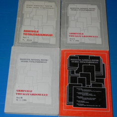 ARHIVELE TOTALITARISMULUI - diverse numere 1993, 1994, 1995, 1996 - Istorie