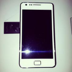 Samsung Galaxy S2 - Telefon mobil Samsung Galaxy S2, Alb, 16GB, Neblocat