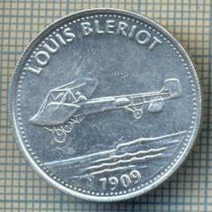 JETON 319 PENTRU COLECTIONARI - TEMATICA AVIATIE - LOUIS BLERIOT 1909 -SHELL -STAREA CARE SE VEDE