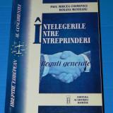 PAUL MIRCEA COSMOVICI, ROXANA MUNTEANU - INTELEGERILE INTRE INTREPRINDERI. REGULI GENERALE. DREPTUL EUROPEAN AL CONCURENTEI