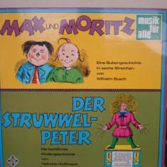 Disc Vinil - Max und Moritz / Derstruwwel-Peter - Muzica pentru copii