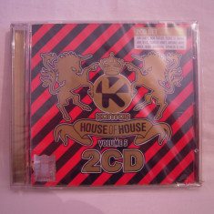 Vand dublu-cd Kontor House Of House-vol 5, original, sigilat - Muzica House roton