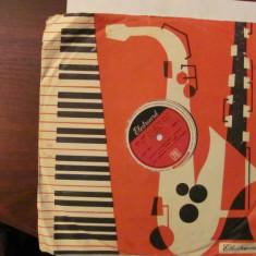 PVM - Disc turatie 78 (patefon, pick-up) Trio Grigoriu