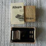 Aparat de ascutit lame Allegro de colectie in cutia originala