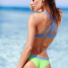 Costum de baie Victoria's Secret - BEACH SEXY - BRALETTE; victoria victorias, Marime: M, Culoare: Din imagine, Doua piese, Bikini
