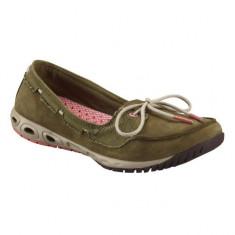 Pantofi de vara pentru dame Columbia Sunvent Boat (CLM-BL4434k) - Balerini dama Columbia, Culoare: Taupe, Marime: 36, 40