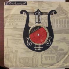 PVM - Disc turatie 78 (patefon, pick-up) Valentin Teodorian