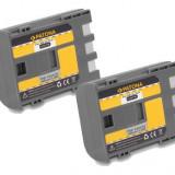 PATONA | 2 Acumulatori compatibili Canon NB-2L NB2L NB 2L BP-2L5 | 600mAh
