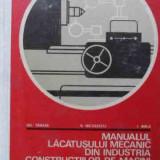 Manualul Lacatusului Mecanic Din Industria De Constructii De - Gh Tanase V Nicolescu I Birla, 523032 - Carti Mecanica