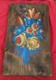 Veche pictura - ulei pe lemn - Semnata !!!