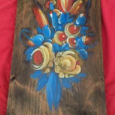 Veche pictura - ulei pe lemn - Semnata !!! - Tablou autor neidentificat