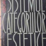 Sistemul Categoriilor Estetice - I.b. Borev, 522750 - Filosofie
