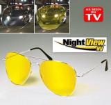 Ochelari pentru condus noaptea Night View  utili pt noapte si zi, uv soferi, Police
