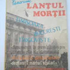 PRESA PANORAMIC - LANTUL MORTII - UN AN DE LA REVOLUTIE - AURA ANGLEL ( 383) - Carte Epoca de aur