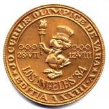 MEDALIE JOCURILE OLIMPICE DE VARA LOS ANGELS 1984 EXPOZITIE FILATELICA FILIALA AFR BUCURESTI ISTORIE NUMISMATICA PACE - Medalii Romania